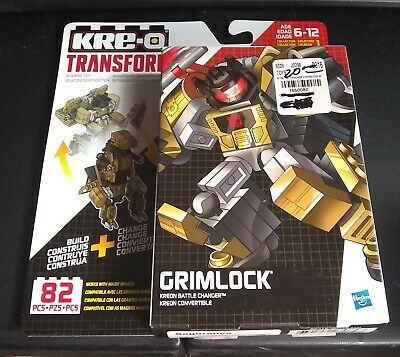 GRIMLOCK DINOBOT Transformers Kreon Battle Changer Convertible KRE-O 82 PCS 0718