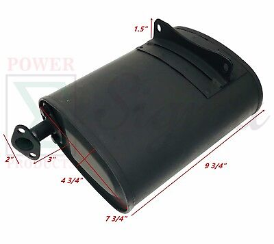 Exhaust Muffler For All Power Duromax Durostar Sigma 3250w 4000w Gas Generator