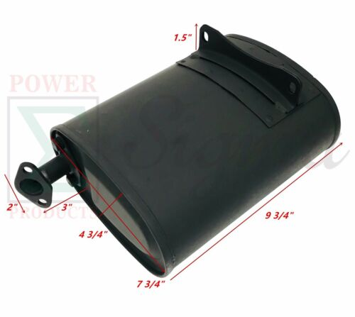 Exhaust Muffler For Predator 212CC 6.5HP 3200W 4000W 3500W 4375W Gas Generator