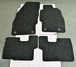 genuine vauxhall corsa d 07 14 car floor carpet mat. Black Bedroom Furniture Sets. Home Design Ideas