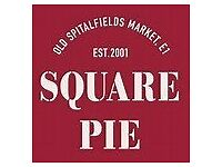 Team Members Wanted For Square Pie Westfield White City