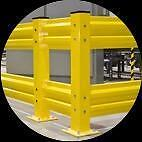 Heavy Duty Guardrails For Walkways, Machinery, Equipment And Pallet Racking Safety Protection