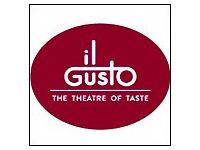 Sales Assistants Required - IL GUSTO, Trafford Centre