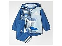 ***REDUCED FOR QUICK SALE BRAND NEW 100% GENUINE FRENCH TERRY ADIDAS HOODED TRACKSUIT***