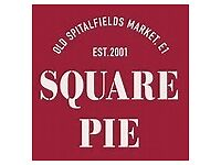 Assistant Manager and Supervisor Wanted For Square Pie, Grand Central