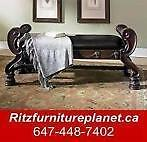 OTTOMAN & BENCH SALE FROM $89