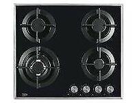 Beko select gas 4 burner hob new 12 mths gtee rrep £299