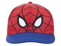 Spider- man Buckle Belt Junior & Marvel Spider-Man Baseball Cap for £13.99