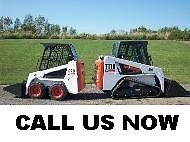 Since 2009 - PROCONS Bobcat Services Mini or Heavy Bobcat