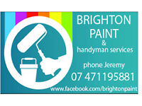 BRIGHTON PAINT all aspects of painting and decorating by experienced tradesman