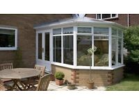 Modern uPVC Conservatory 3m x 3 m installed for £5,999, different styles to choose from.