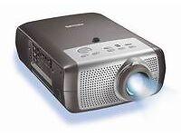 Multimedia Projector (Philips Bsure 1024x768 - 1500 Lumens) & HD Media Player