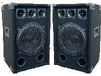 "RCL 12"" 2 Way Loudspeakers"