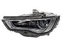 audi a3 original new Headlight Right and left , D3S (Gas Discharge Lamp), LED, PSY24W 8V0941005D
