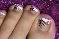 PEDICURE AND MANICURES  MOBILE SPA    FREE MASSAGE $65.00