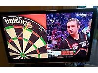 """42"""" tv with free view build in selling it for £100,need quick sale."""
