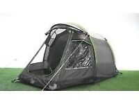 urban escape 2 man tent with porch, 3000 hydrostatic, bucket groundsheet...
