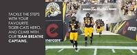 Stair Climb and Tailgate Party with the Hamilton Tiger-Cats