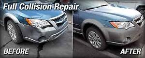 AUTO BODY !!  BUMPERS AND SMALL  SCRATCHES REPAIR FREE QUOTES