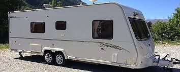 Bailey Series 6 Senator Wyoming 2008 4 Berth Caravan In