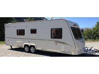 Bailey Series 6 Senator Wyoming 2008 4 berth Caravan