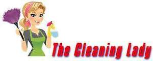 *Cleaning Lady Available*
