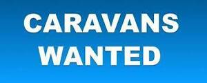 WANTED : CARAVANS WANTED--WE BUY CARAVANS FOR CASH --CALL NOW Tea Gardens Great Lakes Area Preview