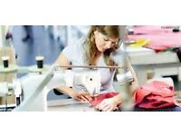 EXPERIENCED (SEWING) MACHINIST, part time/flexi time/full time