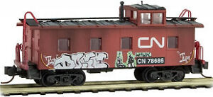 Wanted/Trade N Scale Micro-Trains Grab Bag CN Caboose