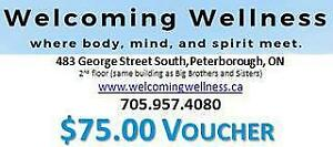 Welcoming Wellness $75 Voucher towards any Service