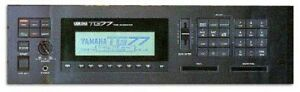 Looking for a Yamaha TG77 synth in Montreal