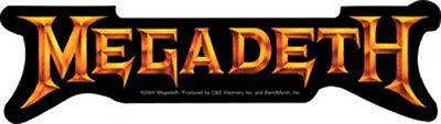 Megadeth - 'Peace Sells' Gold Logo - Sticker