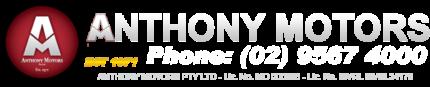 Anthony Motors P/L