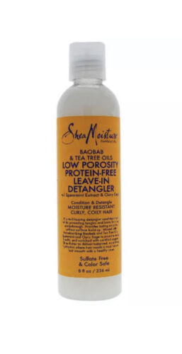 Shea Moisture Protein-Free Leave-In Detangler, Baobab - Tea