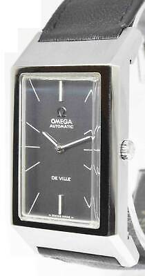 Omega De Ville Vintage Steel 24J Automatic Large Mens Watch 155005
