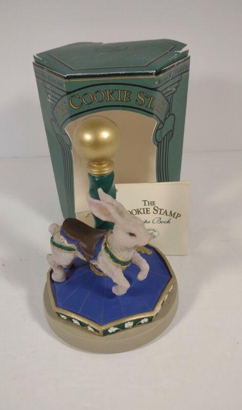 Brown Bag Cookie Art - Rabbit Cookie Press Stamp - Carousel Animals No.4