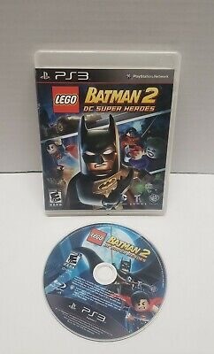 LEGO Batman 2: DC Super Heroes (SONY PLAYSTATION 3, PS3) Tested