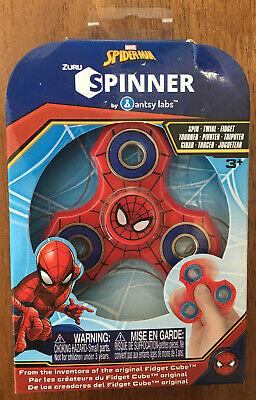 MARVEL SPIDER-MAN ZURU SPINNER Fidget Spinner Twirl Spiderman Antsy Labs NEW