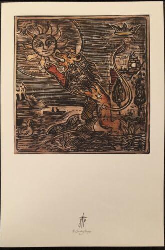 THE SMASHING PUMPKINS - RARE LITHOGRAPH/POSTER - BILLY CORGAN