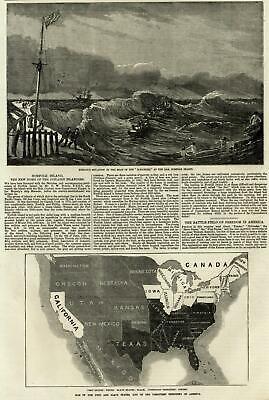 1861 SLAVE MAP SC Lake Wylie Lancaster Laurens Lexington Little River Longs BIG