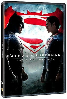 Batman V Vs Superman  Dawn Of Justice  Dvd  2016  2 Disc Set  New