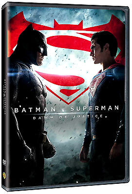 Batman V Vs Superman  Dawn Of Justice Dvd Sealed New Ben Affleck Free Shipping