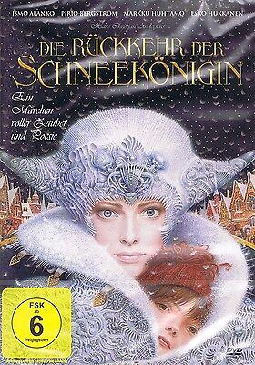 DVD NEU/OVP - Die Rückkehr der Schneekönigin - Ismo Alanko & Pirjo Bergström