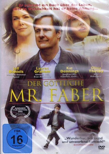 DVD NEU/OVP - Der göttliche Mr. Faber - Jeff Daniels & Lauren Graham