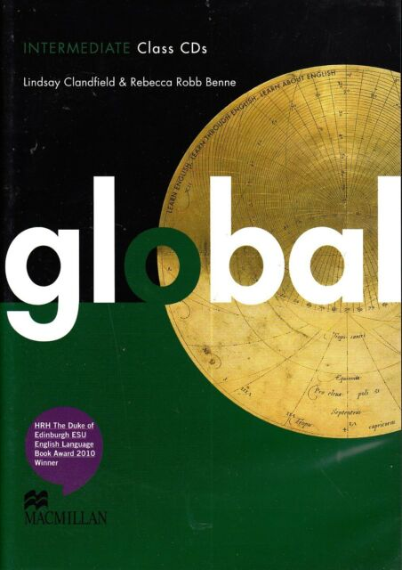 Macmillan GLOBAL Intermediate Class Audio CDs /Lindsay Clandfield & R Benne @NEW