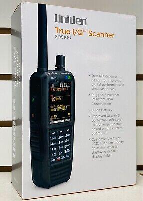 Uniden SDS100 Digital APCO Deluxe Trunking Handheld Scanner broward Miami dade