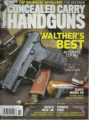 World of Firepower Concealed Carry Handguns Spring 2019 Walther's