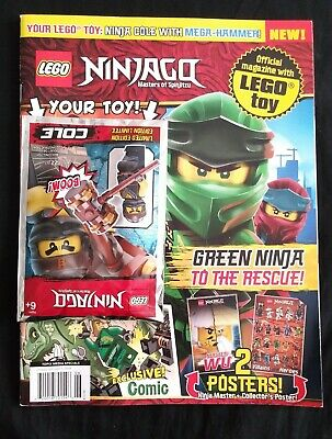 Lego Ninjago Masters of Spinjitzu Magazine June 2019 Special Issue With Lego Toy