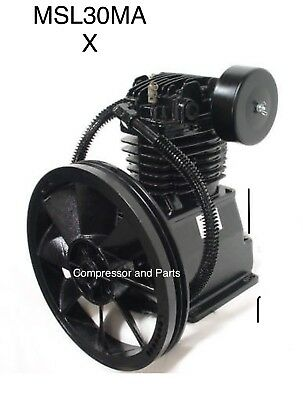 Mitm Mi-t-m Schulz Toledo Tools Air Compressor Replacement Pump Ct60 Msl30max