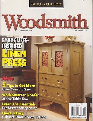 Woodsmith Guild Edition Volume 40, No 236 Jig Saw/Table Saw/Cabinet Door, used for sale  Shipping to Canada